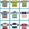 Kaos Anak Oblong Seri Ukuran-Seri Motif Packed
