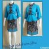 rok and blus 19 . batik kantor