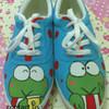 Sepatu Lukis Keropi