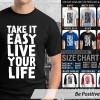 KAOS DISTRO OCEANSEVEN - TAKE IT EASY LIVE YOUR LIFE