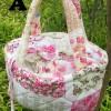Tas Jinjing Tote & Shopper Bag handbags bunga Shabby Chic vintage A