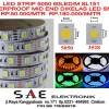 WATERPROOF LED STRIP FLEXYBLE FLEKSI SMD 5050 MID END SMD