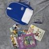 Tas ransel sekolah/ travel waterproof lacoste - Blue colour