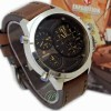 JAM TANGAN PRIA/COWOK EXPEDITION SE E 3 TIME COKLT BODY PUTIH COKLAT
