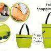 Trolley Foldable Shopping Hand Travel Bag tas tenteng troly handbags