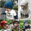 topi anak bayi baby hat kupluk semi rajut katun headband