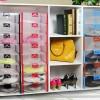 shoes box shoe transparan transparant kotak sepatu sandal kitty masha