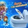 Funny sprinkler toilet travel mainan anak perempuan laki cowok cewek