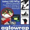 Safety Led aglowrap aksesoris gelang tangan anak pria wanita lampu led