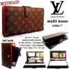 DOMPET HP LV KULIT CASE TABLET 7-8 INCi SERBAGUNA mono cream