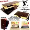DOMPET HP LV KULIT CASE TABLET 7-8 INCi SERBAGUNA mono creamy