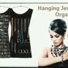 Hanging jewelry organizer : tempat perhiasana / aksesoris