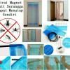 tirai pintu anti nyamuk magnet angin bebas keluar masuk magic mesh