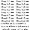 BATU MULIA BLACK JADE ACEH CINCIN RING BERKASIAT