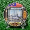 SOUVENIR MANCANEGARA ASBAK MALAYSIA