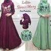 Set Hijab Gamis Syari Bergo Lolita Maxi B