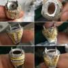 Grosir Cincin / Cangkang Titanium Kombinasi Import