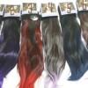 hair clip ombre lurus