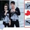 Couple Jaket Puma Combi New