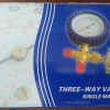 Single Manifold Three Way Valve