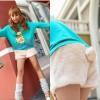 Celana Wanita Fashion Color APRICOT P6351