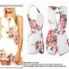 Baju Cantik Fashion color white P3840