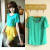 T9173 Baju WANITA Fashion Wanita Color GREEN