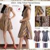 dress Leynara Batik Zipper Mini