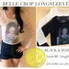 Belle crop longsleeve