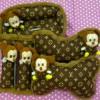 Bantal Mobil 3 in 1 Boneka MIKI LV