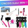 Tongsis Kabel Super Mini Dengan Holder Lipat