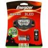 ENERGIZER HEADLIGHT 3 LED / SENTER KEPALA / HEADLAMP/2 LIGHT MODES