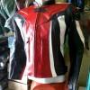 Jaket Kawasaki Ninja Kulit Oscar Import + Full Protector