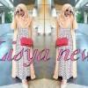 Gamis Lisya / hijab Lisya / maxi Lisya / baju muslim murah
