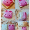 cetakan roti bunny sandwich mold snack cake maker