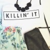 TUMBLR TEE / KAOS TUMBLR / BAJU TUMBLR (KILLIN IT)