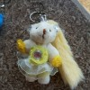bag charm key chain gantungan tas beruang teddy bear fur furry boneka