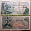 Uang Kuno 1 Rupiah tahun 1956 [Gadis [Jawa]