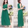HQ 9255 - Green Cut Out Long Dress