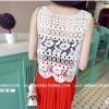 HQ 9267 - White Crochet Outer