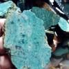 Batu LUMUT HIJAU JEMBER motif pirus bentuk lempengan 1 cm per ons