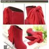 Sepatu Wanita Color Red Korea Impor SH1024