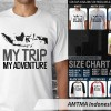 KAOS DISTRO OCEANSEVEN MTMA - MY TRIP MY ADVENTURE INDONESIA
