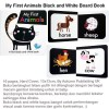 My First Animals Black and White Board Book (US-BBY-BRD-FABW)