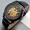 Jam Tangan Rolex Skeleton Full Black Automatic