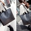 Best Seller! Tas Urban Croco Tote Bag (Black)