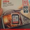 SanDisk SD Ultra 32 GB Speed 30 MBps