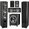 accusound reference 6.6xd home theatre 5.1 + 150w subwoofer (1 set)