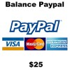 $25 Balance Paypal
