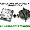 Processor Core 2 Duo E7500 2.93 Ghz + Fan (LGA 775 Garansi 1 Tahun)